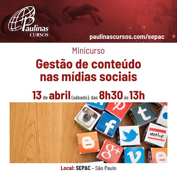Laboratório: Gestão de conteúdo nas mídias sociais