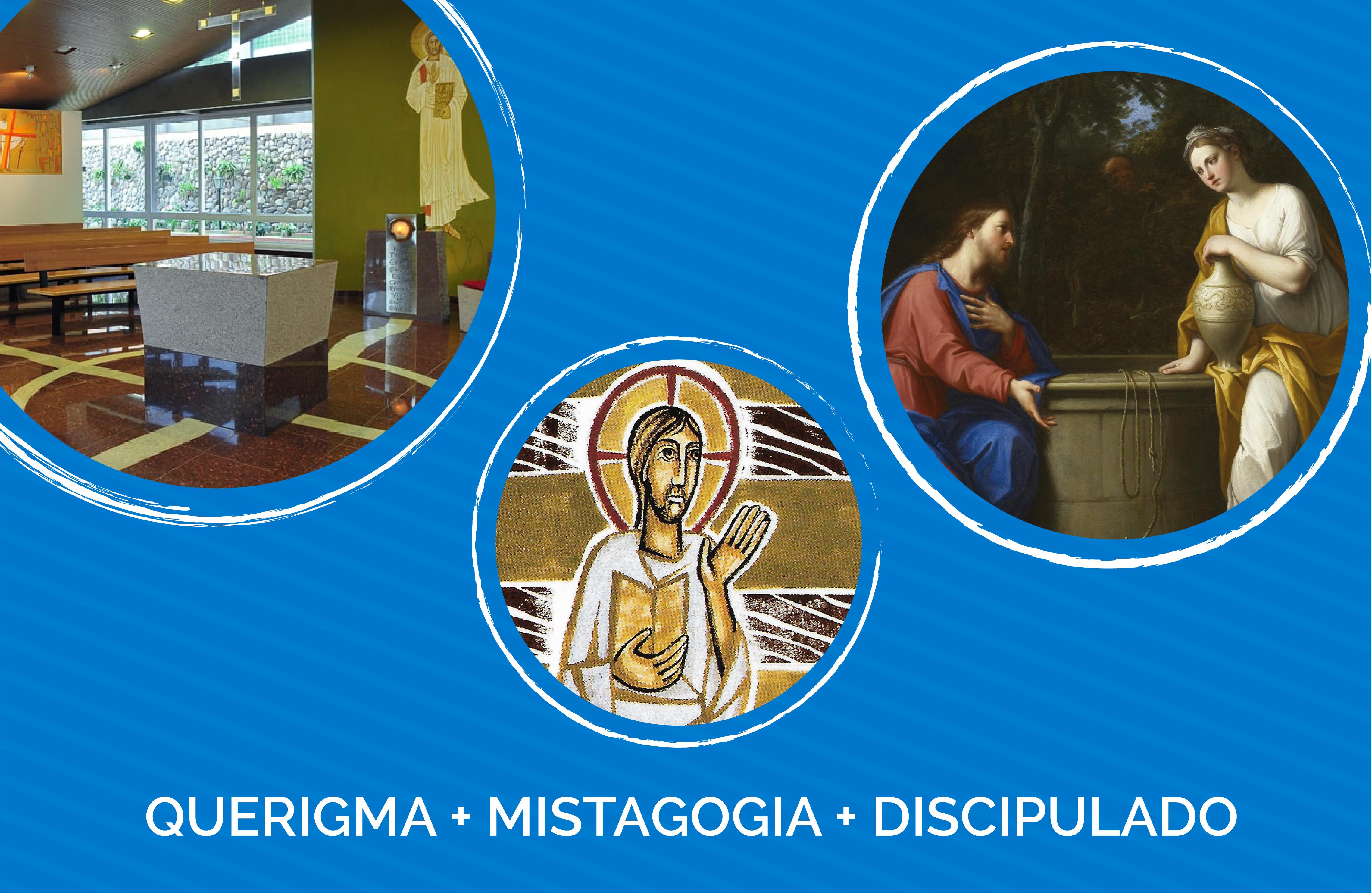 Iniciação à Vida Cristã - COMBO (Querigma, Mistagogia e Discipulado) - EAD